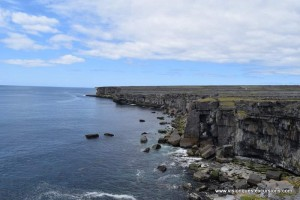 Cliff view on Inishmore
