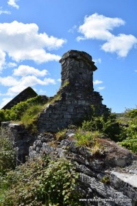 Old house ruin in The Burren