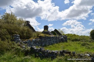 Old ruin in The Burren