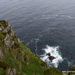 Over the cliff at Horn Head Irealand