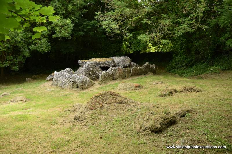 Ireland vacations Pic of a Wedge Tomb